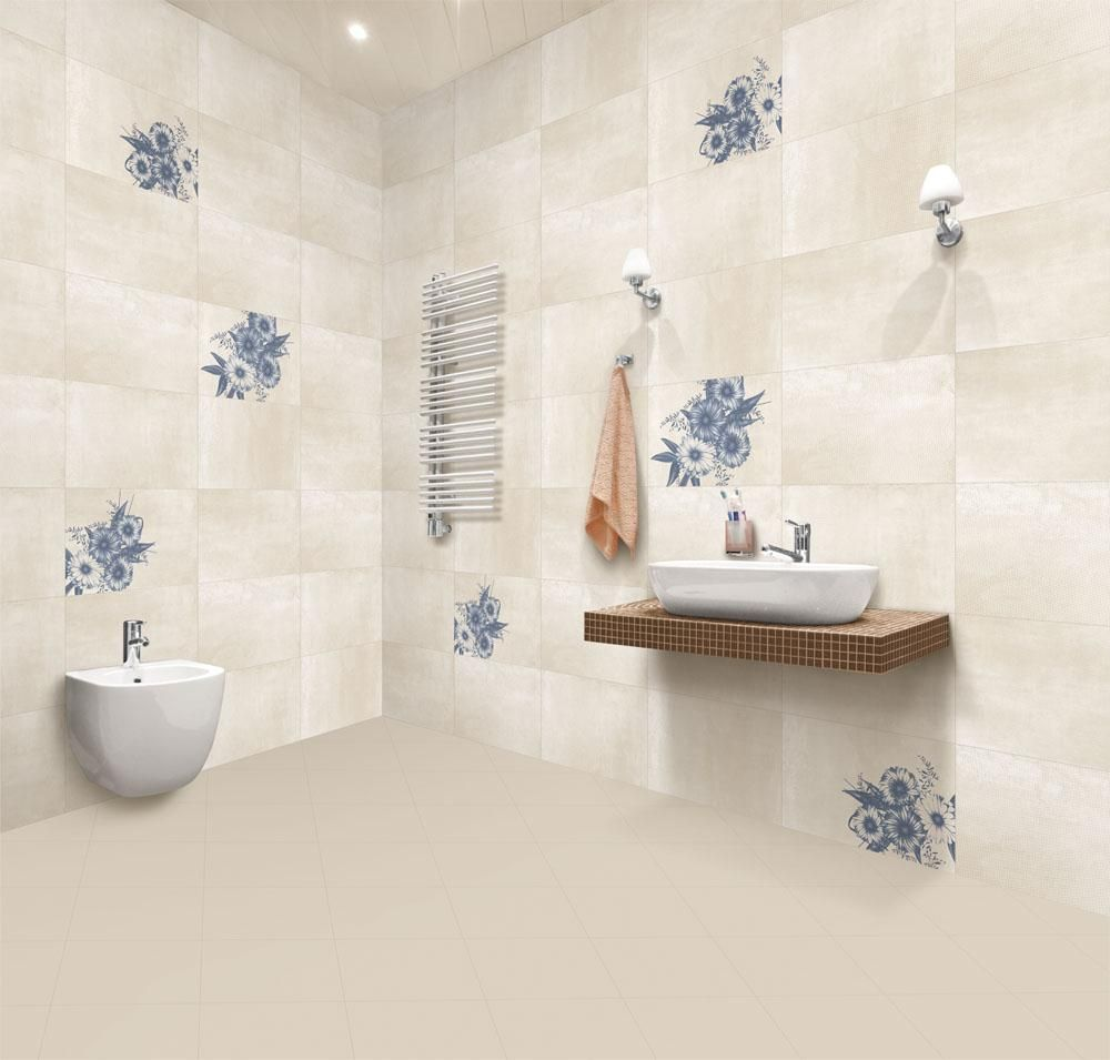 Daffodil Azul (Wall Tile), Size 300x450 mm, For more