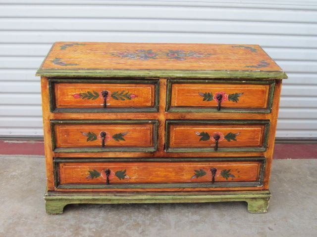 Monterey Style Dresser Chest Of Drawers Commode Bedroom Furniture