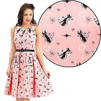 Voodoo Vixen Pink Kitten dress.