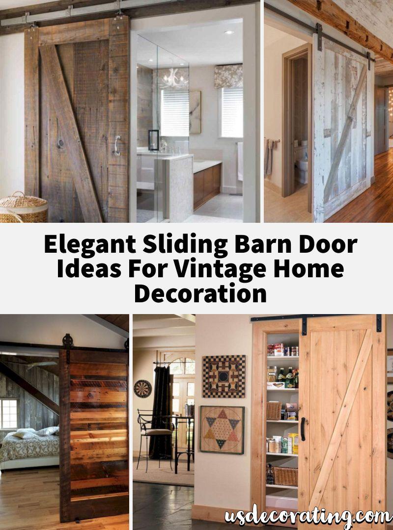 23 Elegant Sliding Barn Door Ideas For Vintage Home Decoration Barn Door Diy Barn Door Plans Modern Barn Door