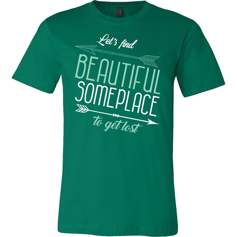 Family - Lets Find Beautiful Someplace To Get Lost - Men Short Sleeve T Shirt - TL00763SS