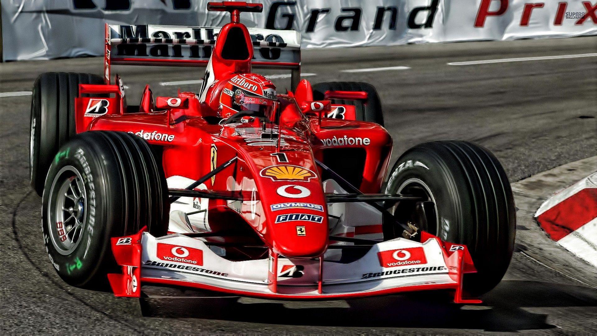 Formula 1, Ferrari F1, Michael Schumacher, Monaco