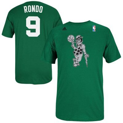 detailed look 2a6b4 a8420 adidas Rajon Rondo Boston Celtics 2013 Christmas Day Name ...