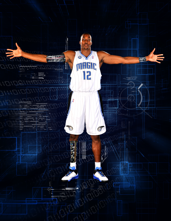 This Was The Design For Dwight Howard S Press Kit In 2010 Dwight Howard Dwight Howard