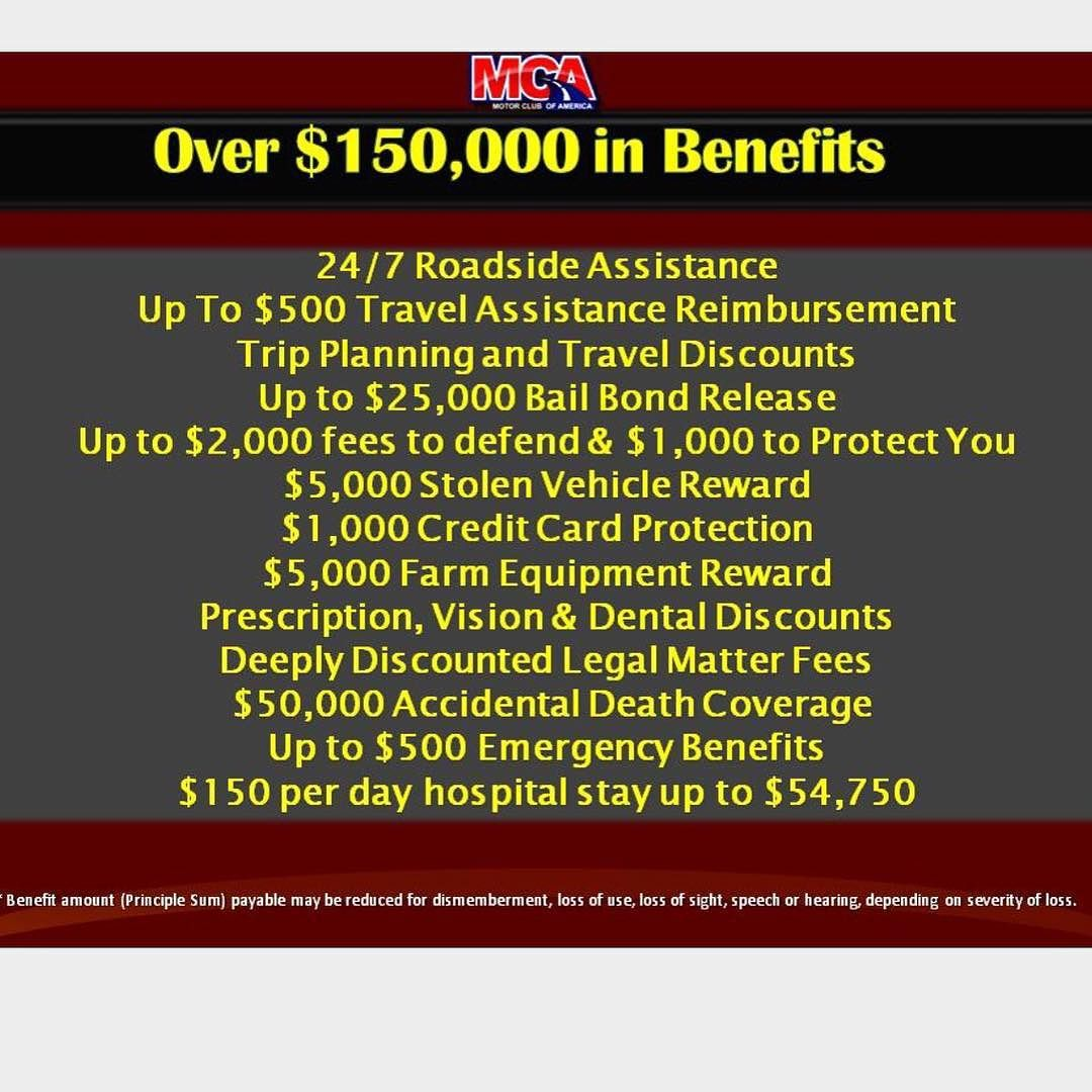 Anybody can benefit from mca motor club of america has