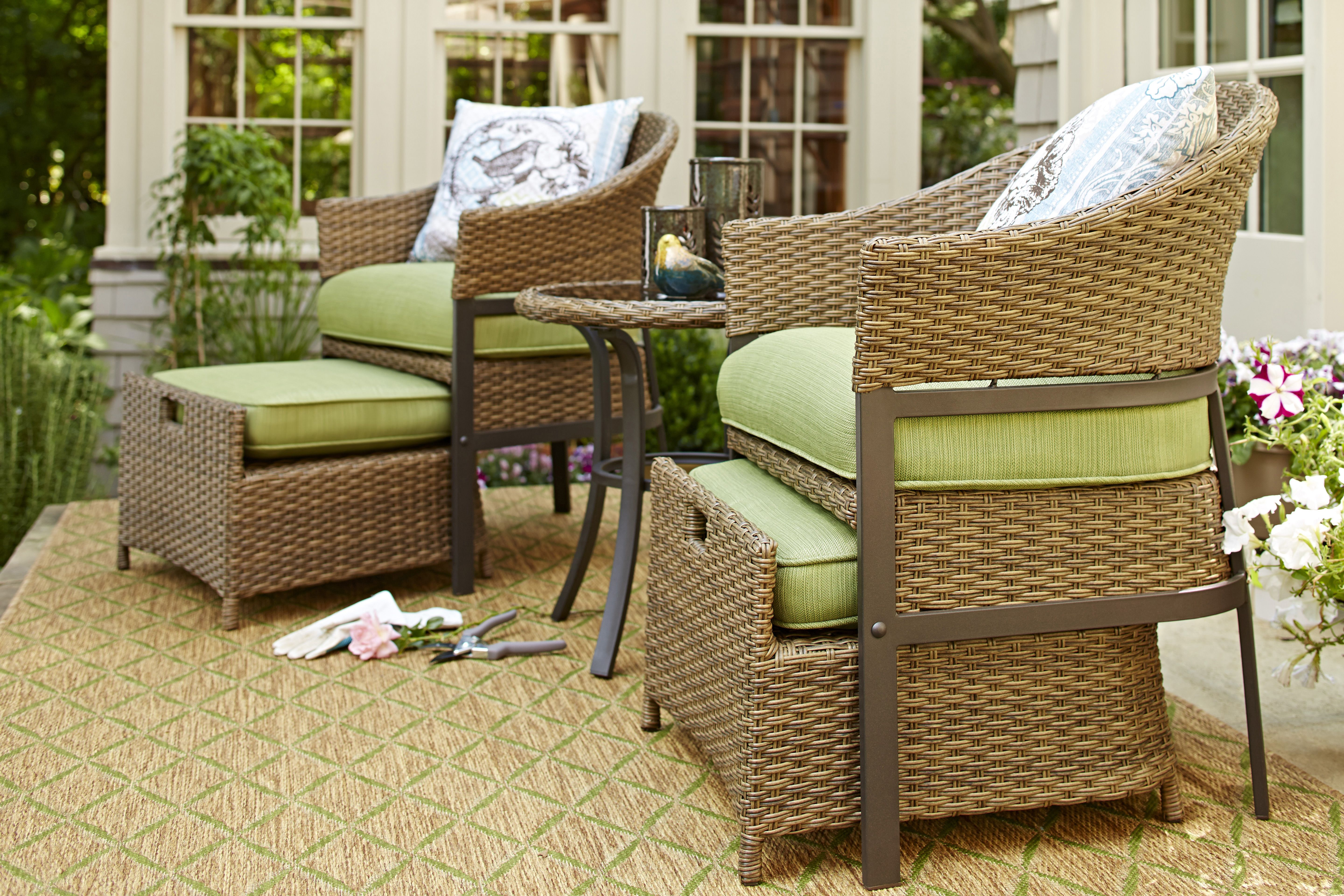 This Patio Conversation Set Is Perfect For Small Spaces