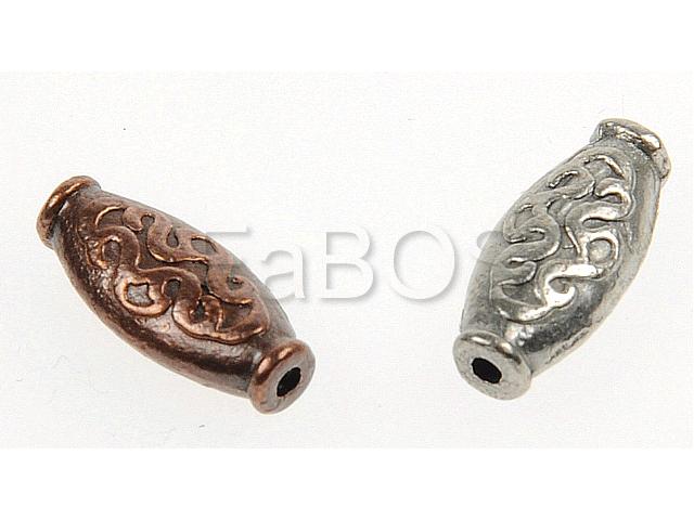 Lité mezidlíly patří k oblíbeným kovodílům. Dávají se většinou do náhrdelníku či náramku mezi korálky. Dá se díky nim vytvořit originální a krásná bižuterie. www.fabos.cz