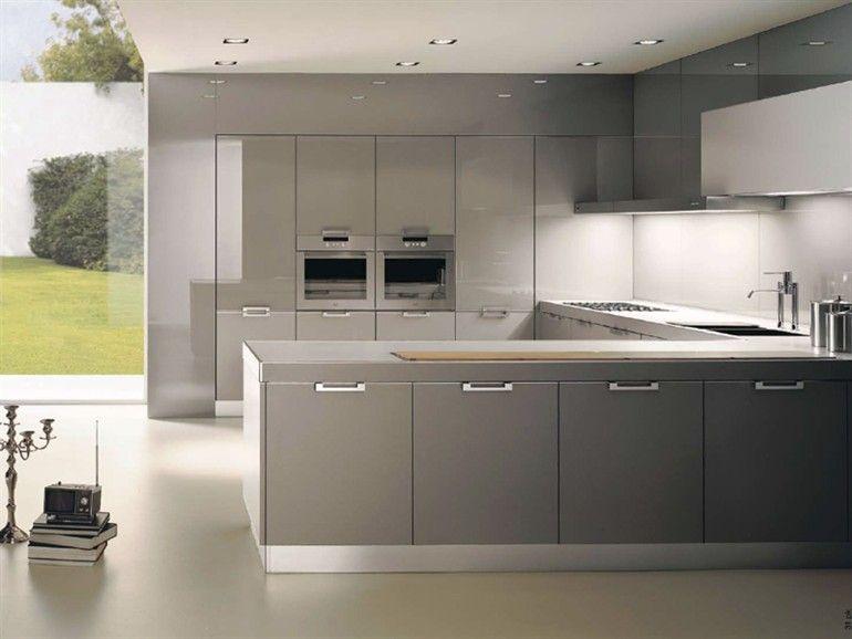 Cocinas grises buscar con google pinterest - Cocinas modernas grises ...