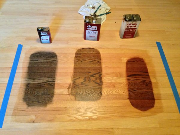 Choosing A Floor Stain Antique Brown Jacobean Red