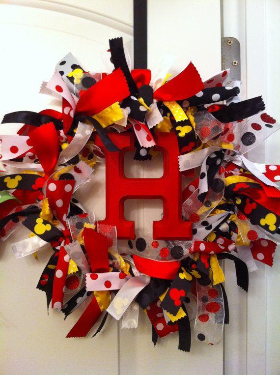 Photo of Items similar to Custom Ribbon Wreath on Etsy