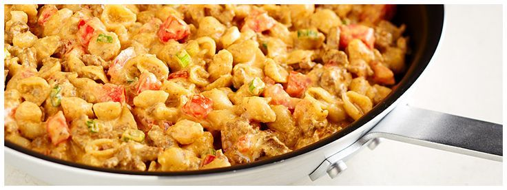 Photo of VELVEETA® Shells & Cheese Cheeseburger Mac-VELVEETA® Shells …