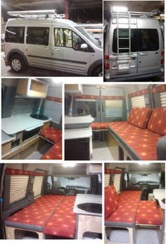 ford transit camper conversion ford wohnmobil coole. Black Bedroom Furniture Sets. Home Design Ideas