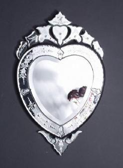 Heart Shaped Victorian Mirror Victorian Mirror Victorian Interiors Mirror Wall