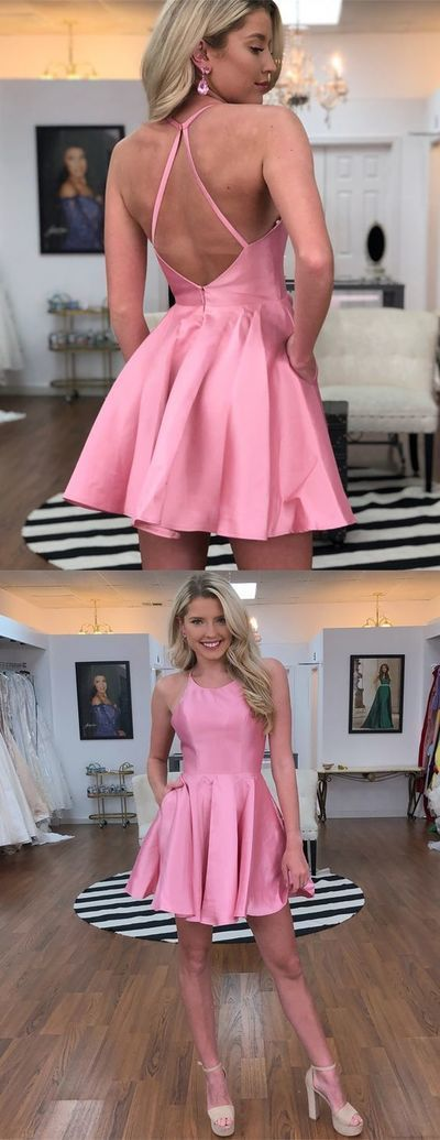 2019 Kurzes Heimkehrkleid, kurzer Abschlussball | sunshinebyyou   – ~❤️ 2019 short homecoming prom dress  ~❤️
