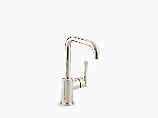 K 7509 Purist Single Handle Bar Sink Faucet Kohler In 2020 Bar Sink Faucet Sink Faucets Kitchen Sink Faucets