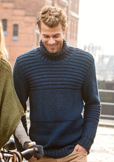 Herrenpullover, S9818 | Schachenmayr | knit men | Pinterest ...