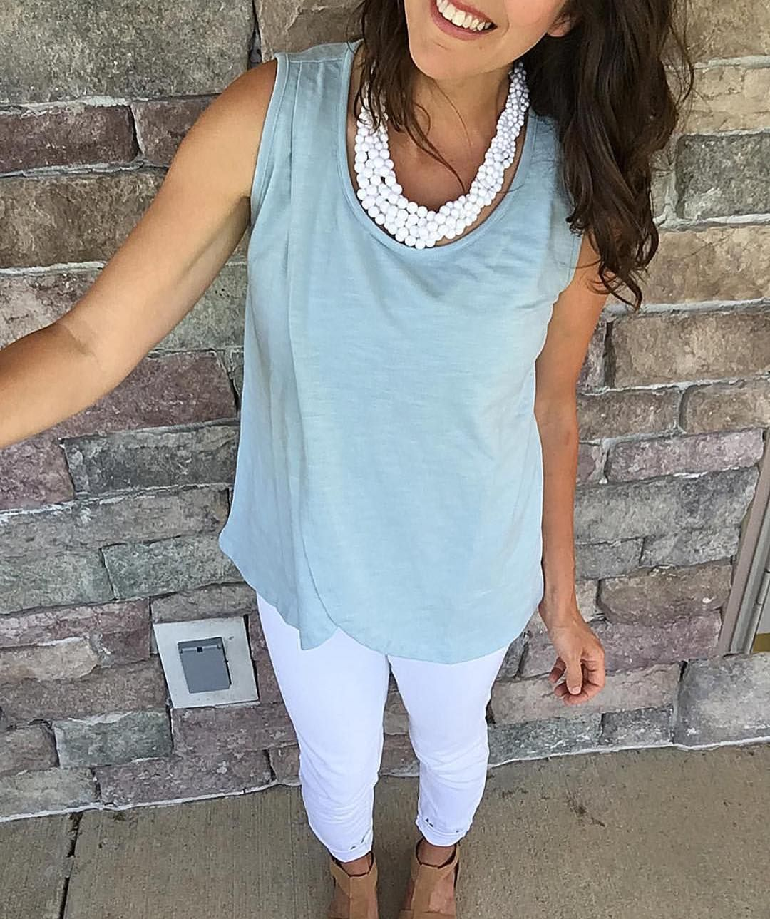 629f9af15678b The tulip front nursing top is such a freaking cute outfit! | Our ...
