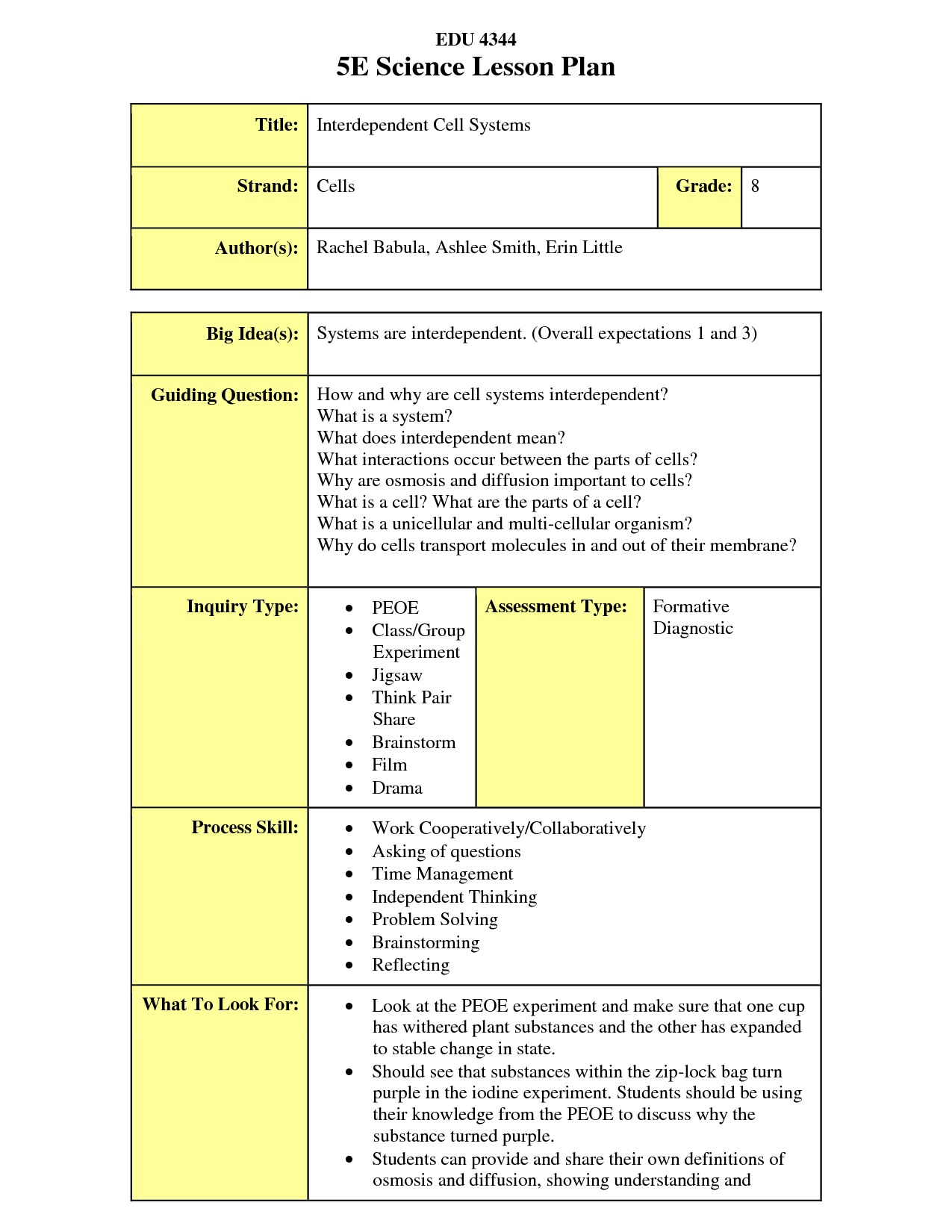 The 5e Lesson Plan Is An Extremely Useful Way Of Planning The 5e S Include Engage Explore