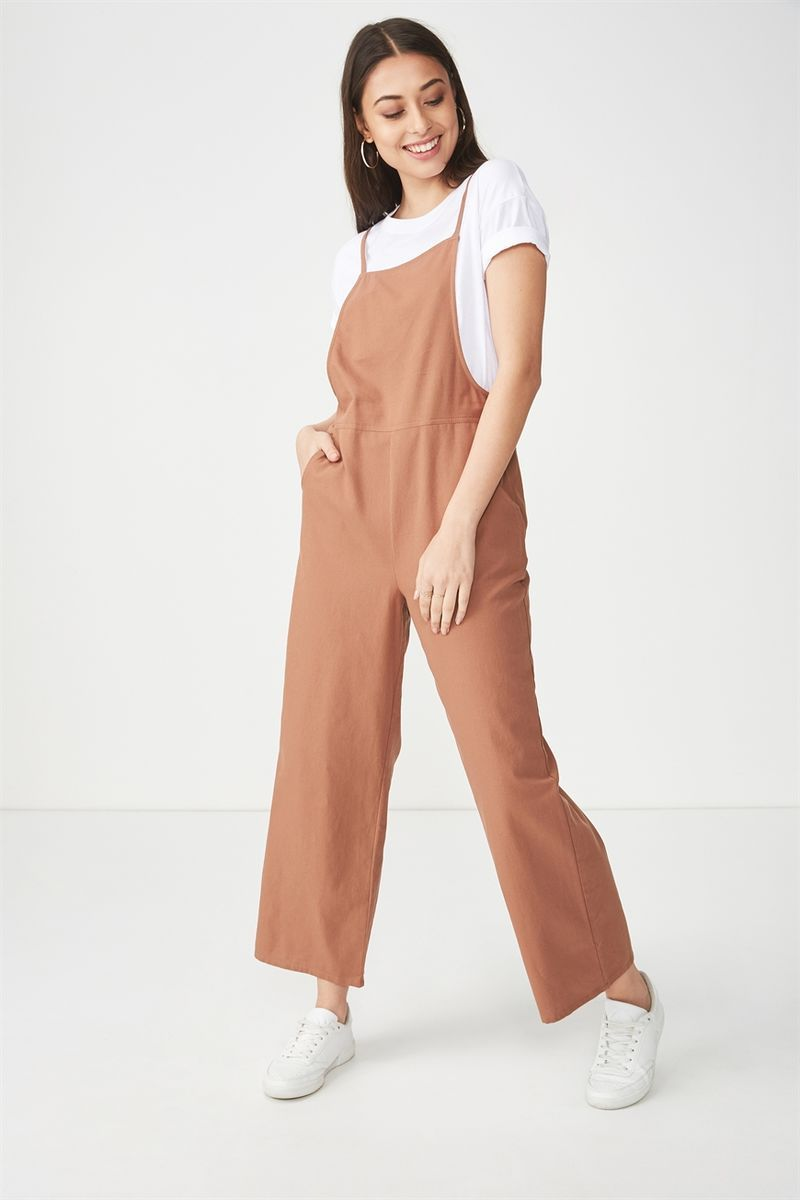 a0f8409c5ecd Woven Phoenix Overall Jumpsuit