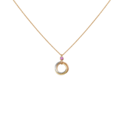Trinity de Cartier limited edition pendant 3-gold, spinel