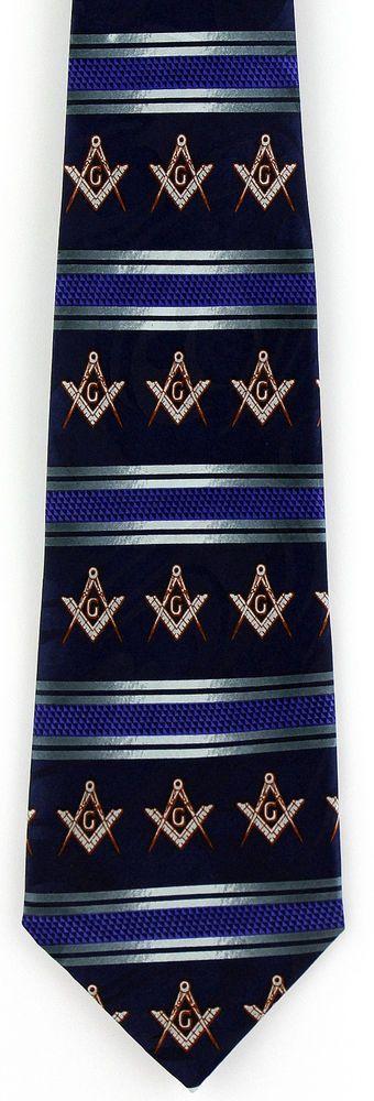 Masonic Lodge Inner Guard Square Tie Slide Clip