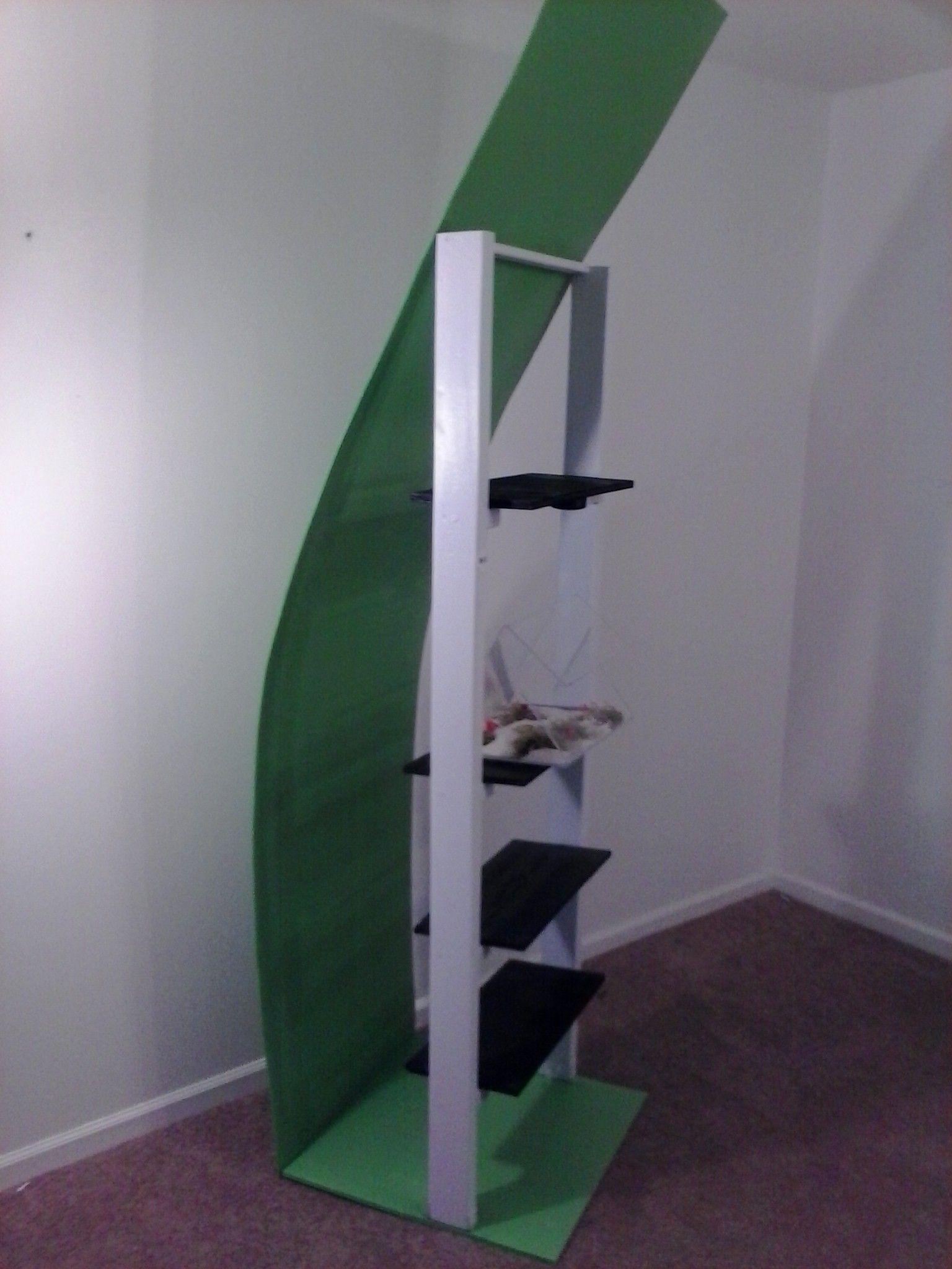 Reptile terrarium bookcase sold in multiple colors and habitat