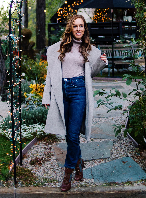 0928a962df85 Sydne Style reviews the best winter coats with ann taylor wrap coat  coats   beige  lakearrowhead  sydnesummer