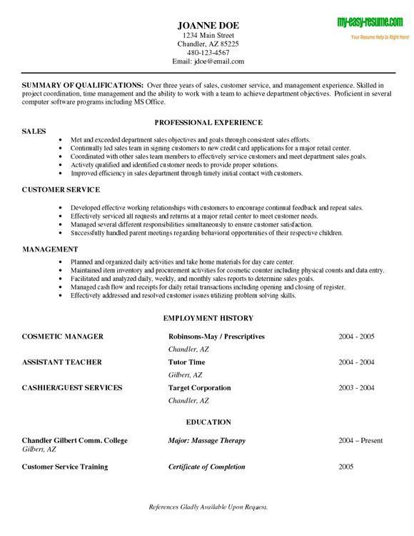 Great Resume Objective Statements Examples Sle Resume Objectives For Entry Level Retail Resume Objective .