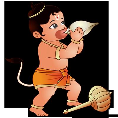 Hanuman Shankha Hinduism Pinterest Hanuman Bal Hanuman And
