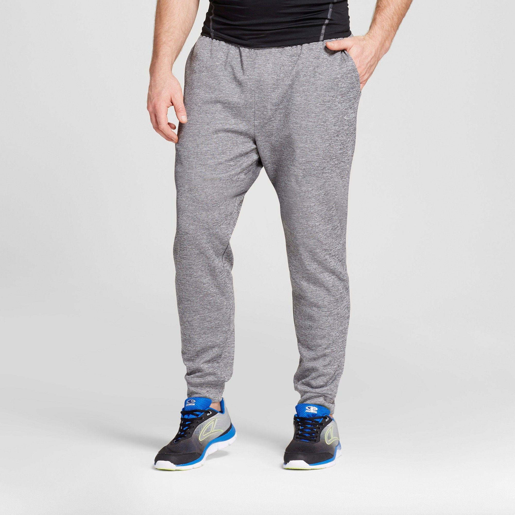 99a1d334 Men's Big & Tall Premium Jogger Pants - C9 Champion Fog Heather L x 34,  Size: L Tall