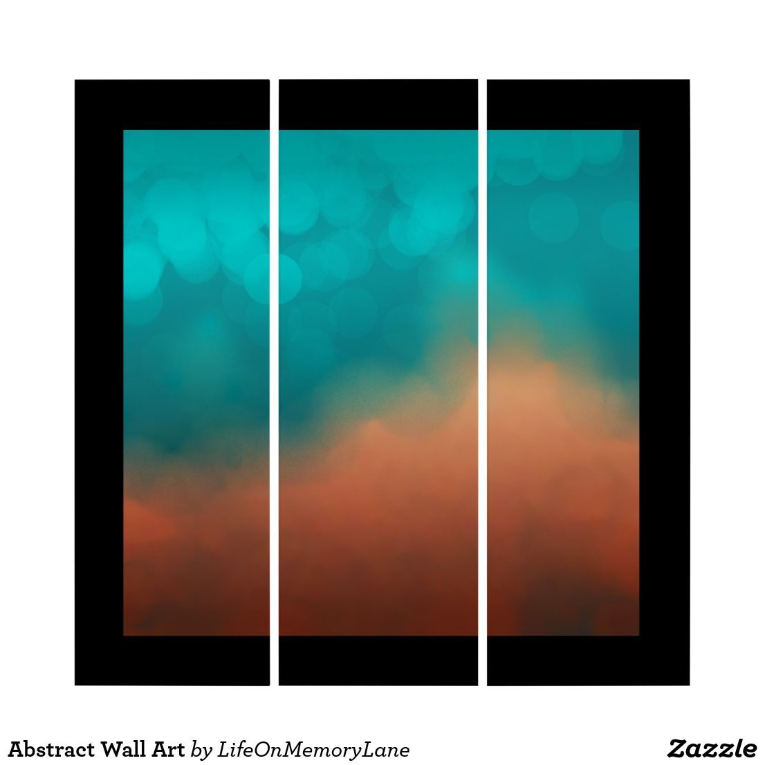 Abstract wall art teal and black bedroom pinterest abstract