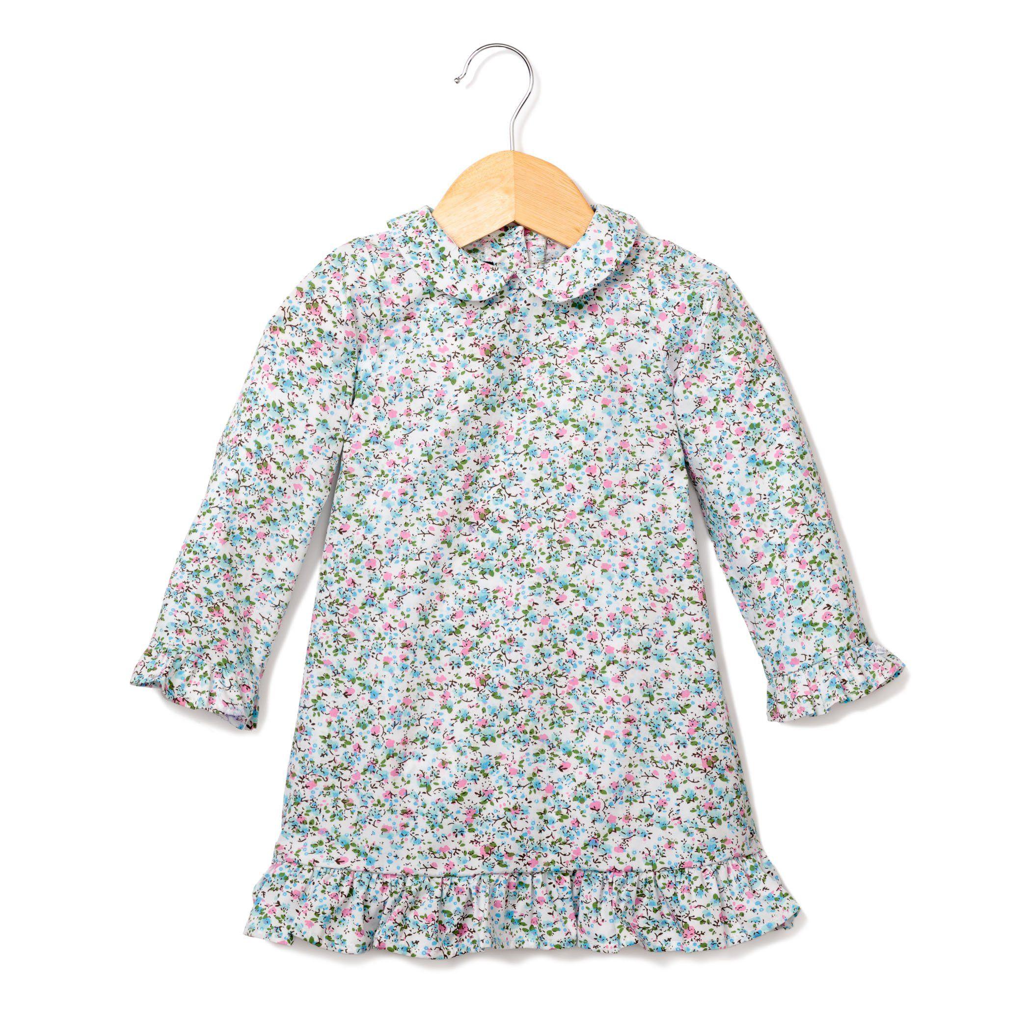 e43e4543ca19 Floral Whisper Sophia Nightgown from Petite Plume  kids  sleepwear  pjs   pajamas  blue  christmas  winter  gift  children  kidswear  childrenswear   jammies ...
