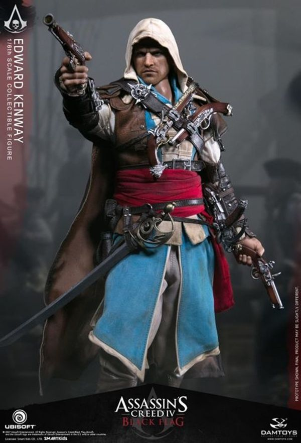 Assassin S Creed Iv Black Flag 1 6 Scale Edward Kenway Figure Edwards Kenway Black Flag Assassins Creed Black Flag