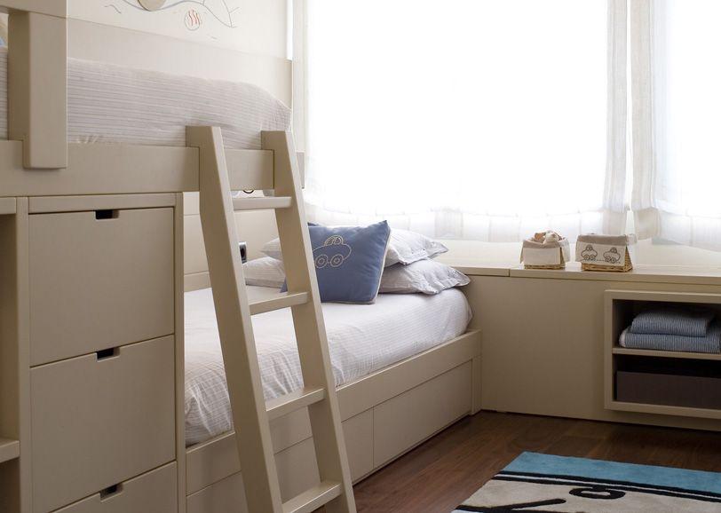 Pin de axia en habitacion compartida hermanos pinterest - Tres camas en habitacion pequena ...