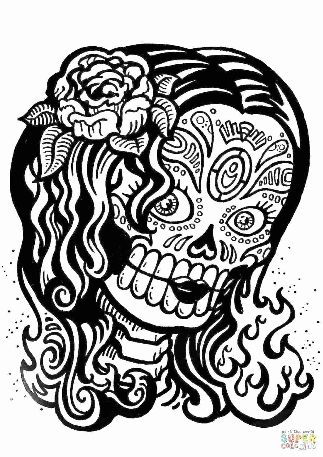 Sugar Skull Coloring Pages Awesome Junie B Jones Coloring Pages Topranksheet In 2020 Skull Coloring Pages Coloring Pages For Girls Coloring Pages