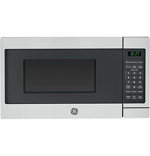 Ge 0 7 Cu Ft Capacity Countertop Microwave Oven Countertop Microwave Oven Countertop Microwave Stainless Steel Microwave