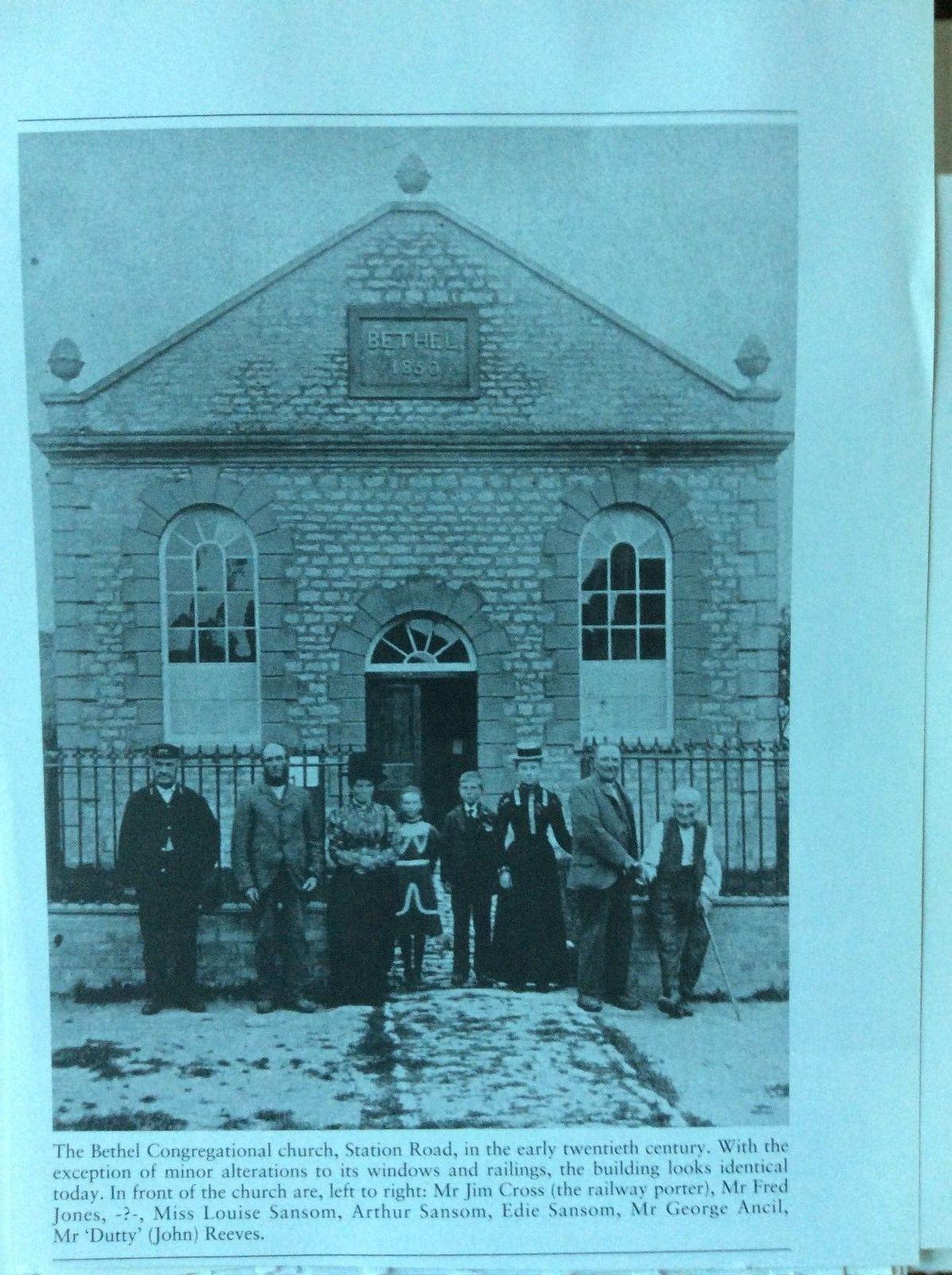 f1l ephemera reprint picture bicester bethel congregational church louise sansom | eBay