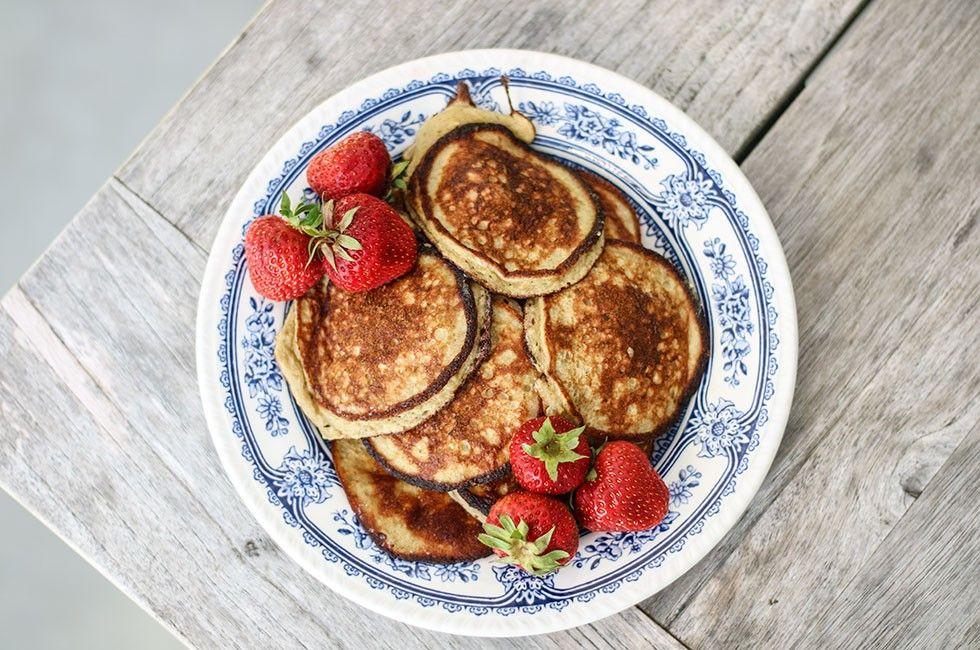 Perfekta Bananpannkakor Soulfood Recept Frukost Frukost Och Havregryn Recept