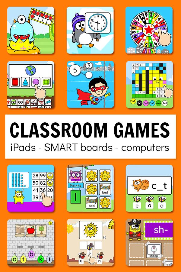 Digital Games 1 Year Subscription In Class Distance Learning Ela Math Games Kindergarten Math Games Math Games For Kids Learning Games For Kids
