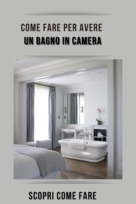 94 Ottime Idee Su Bagno In Camera Bagno In Camera Camera Bagno