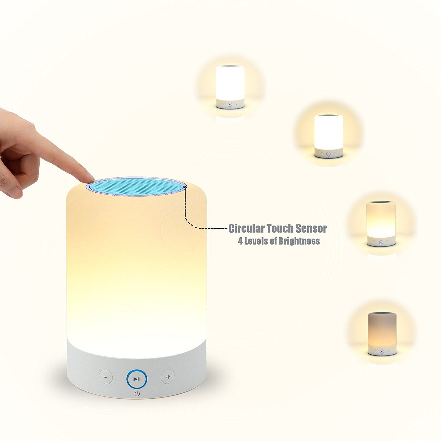 Bluetooth Speakers Wireless Stereo Subwoofer Smart Touch Lamp Color Changing Touch Lamp Wireless Speakers Wireless Speakers Bluetooth