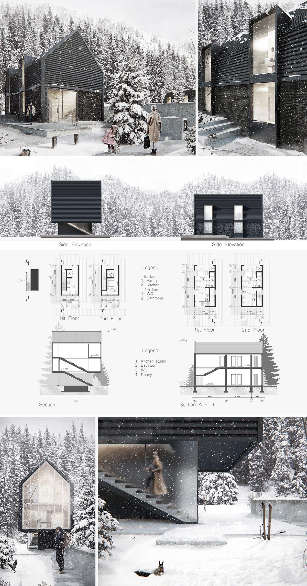 Retractable house Dmitry Sheleg – nowoczesna STODOŁA