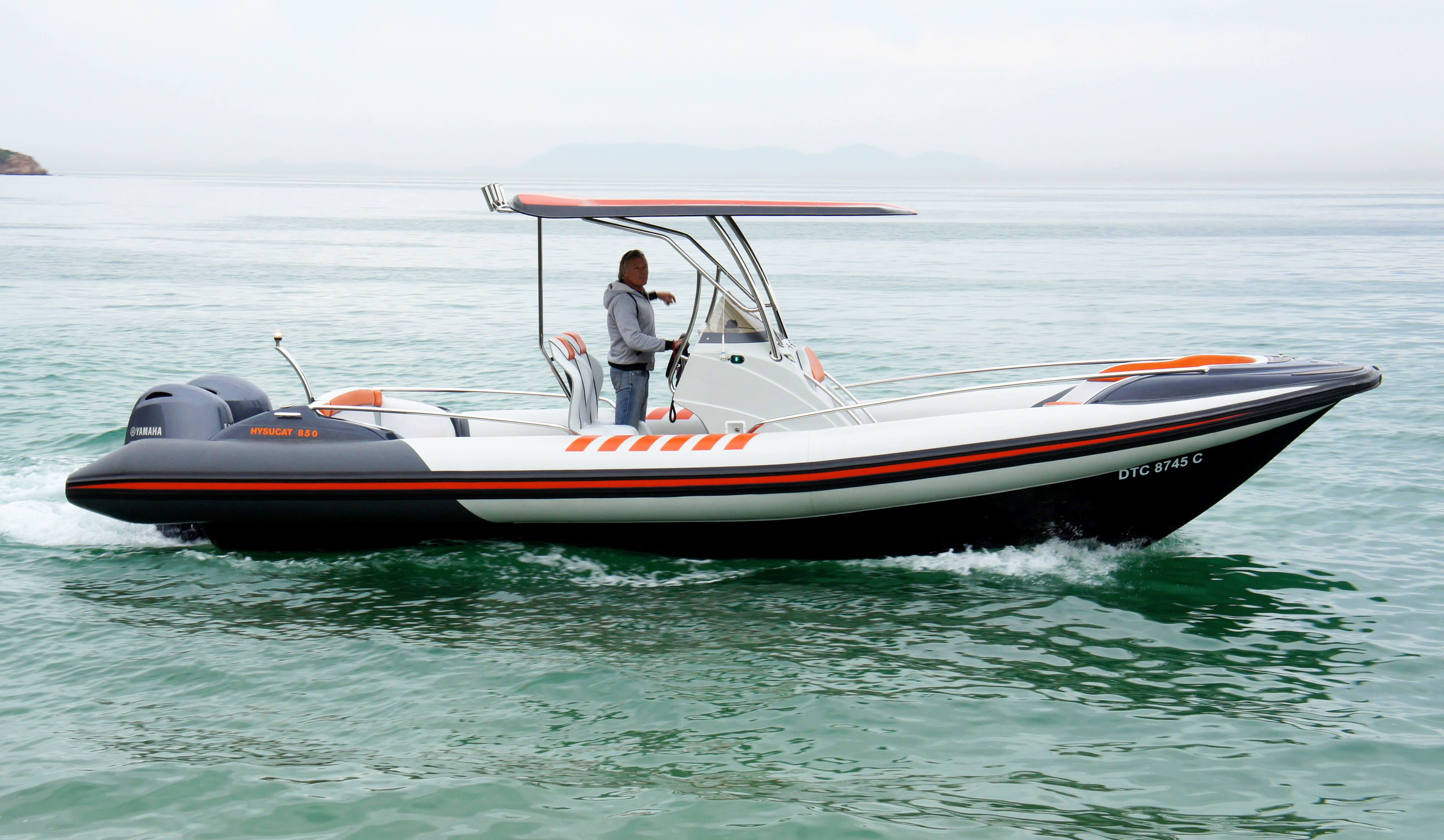 Get the 8 5m Rigid Inflatable Boat (Rib Boats) from Hysucat