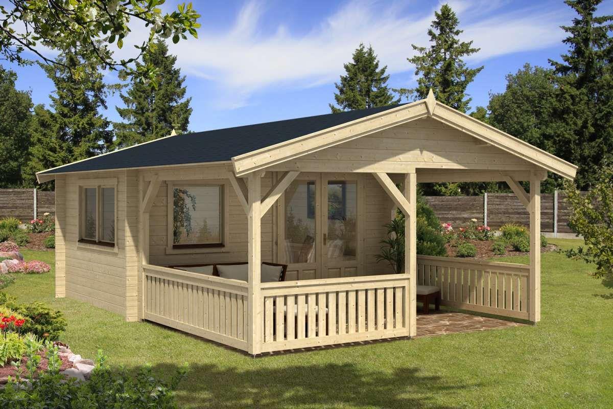 Gartenhaus Modell Flex 50 A Mit 300cm Terrasse 4x3 3 Gartenhaus
