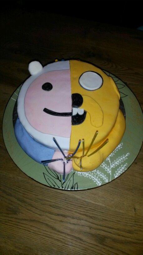 Finn/jake adventure time cake | Adventure time cakes ...
