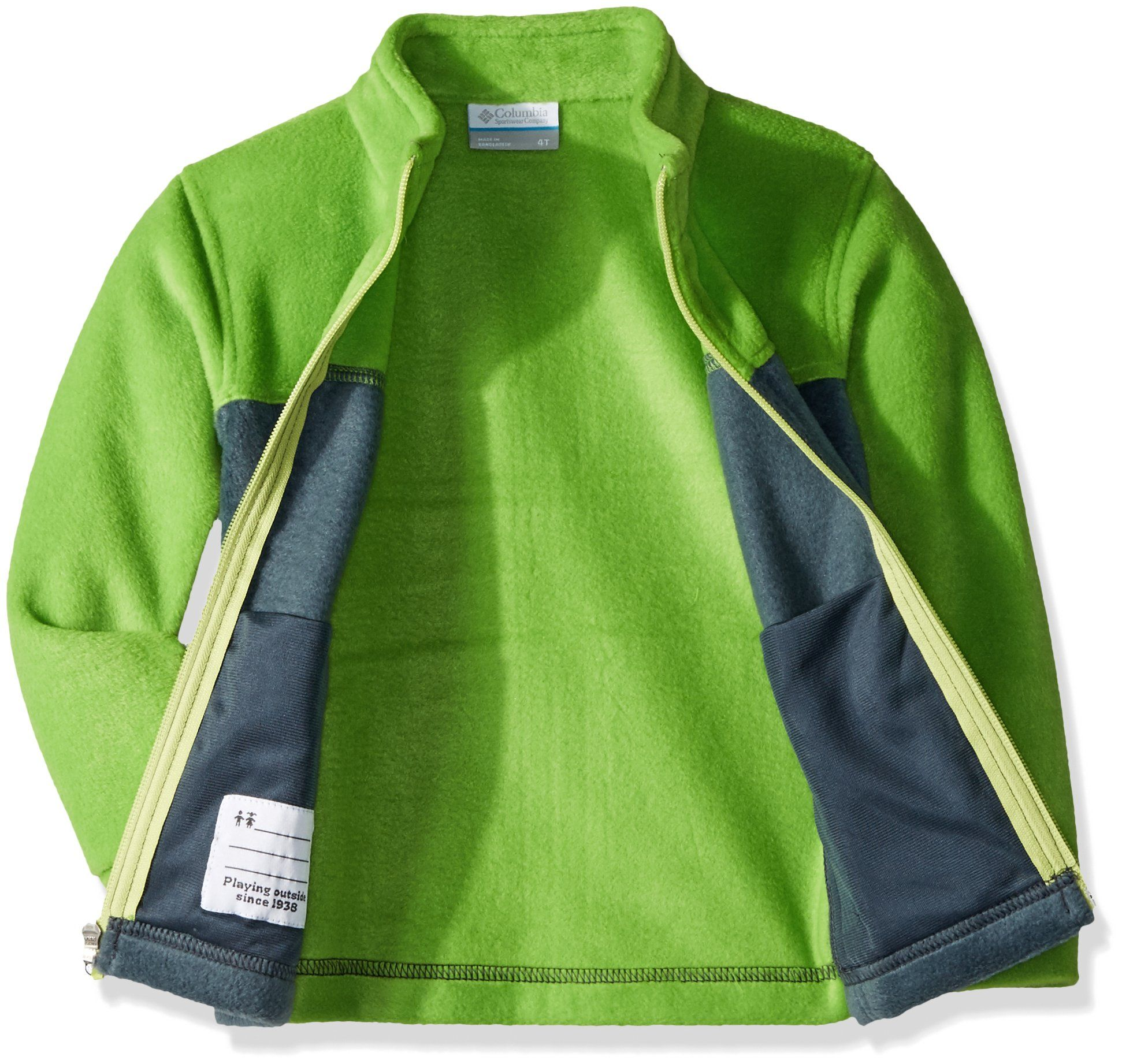 98c5f414f30 Columbia Toddler Boys Steens MT II Fleece Cyber Green Mystery 3T    Click  image to review more details.(It is Amazon affiliate link)   BoysClothingCollection