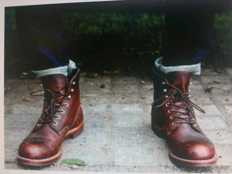 Mens work boot fashion. Red wing shoes. | LUCKY 43: The Everyday ...