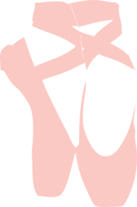 ballet slippers clip art vector clip art online royalty free rh pinterest com ballet shoes pictures clip art ballet shoes silhouette clip art