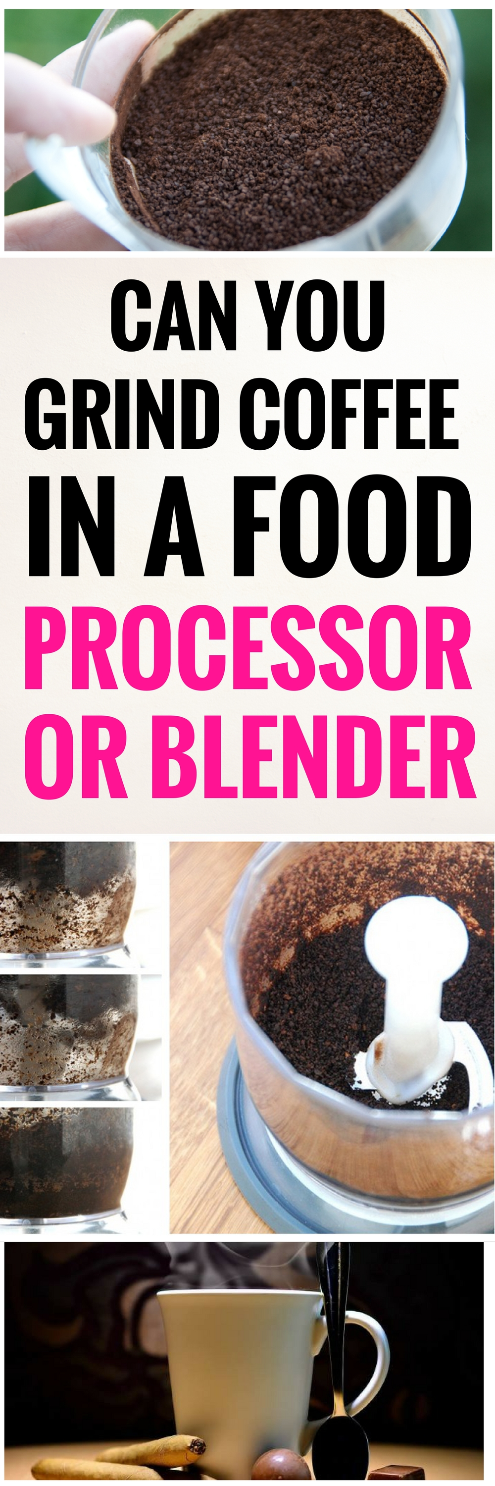 can you grind coffee with blender