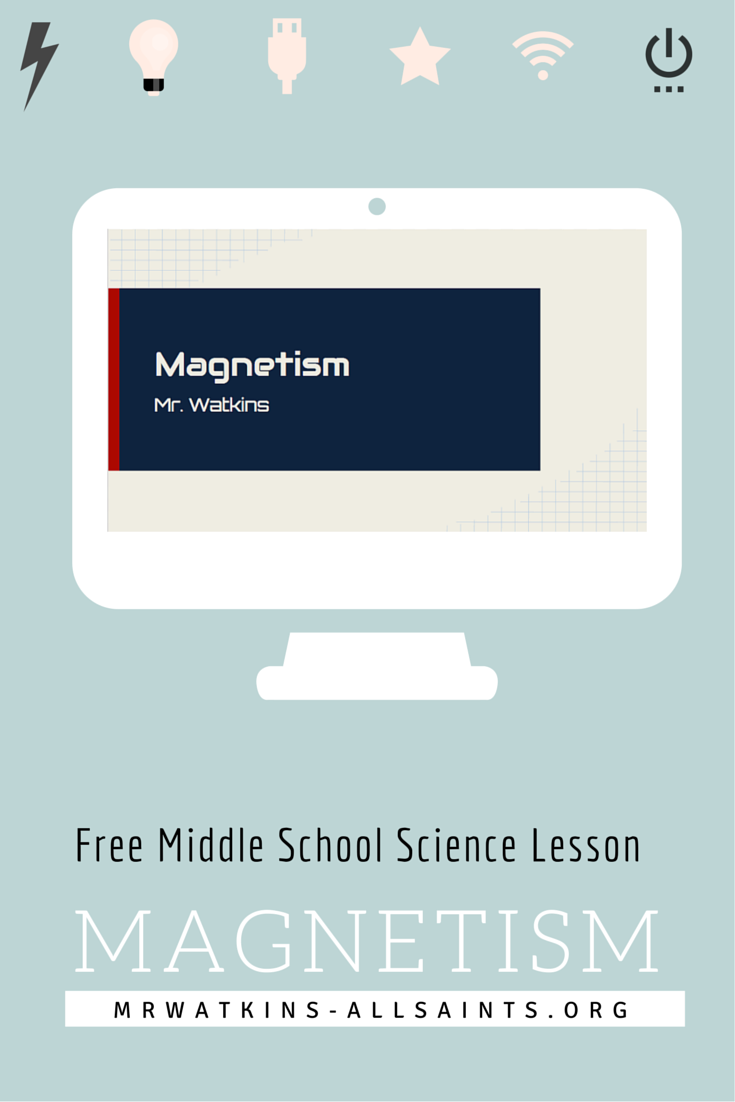 Free Magnetism Lesson for Middle School Science | NGSS Aligned ...